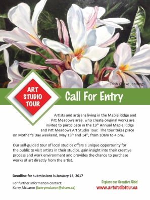 Maple Ridge Pitt Meadows Art Studio Tour 2017