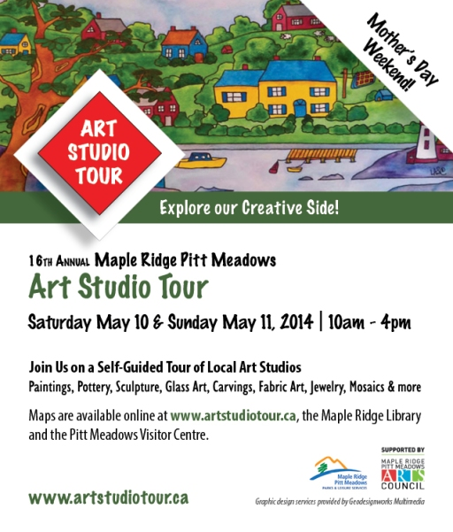 2014 Maple Ridge Pitt Meadows Art Studio Tour