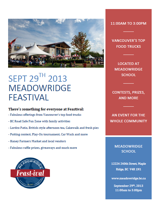 Meadow Ridge Feastival