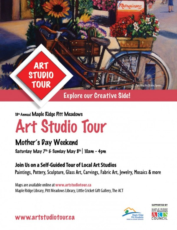 Maple Ridge Pitt Meadows Art Studio Tour 2016